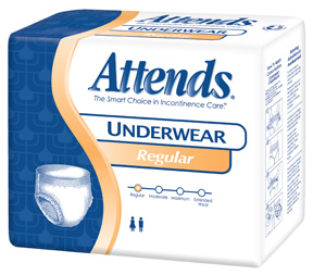 Attends Regular Absorbency Protective Underwear