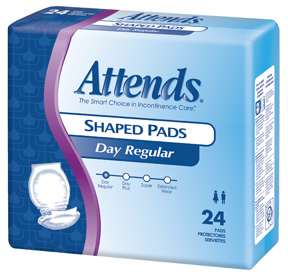 Attends Regular Shaped Pads